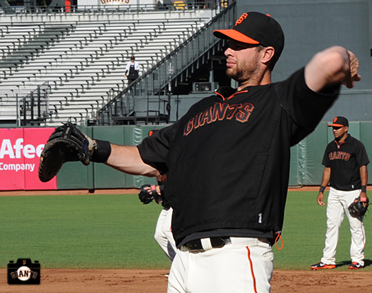 Itching to Play — Brandon Belt