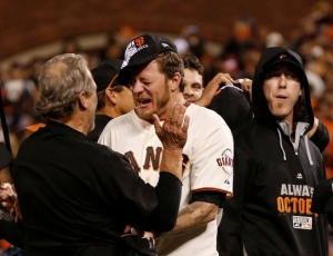 Peavy panics while timmy stays cool
