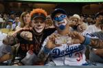 clowning for the dodgers